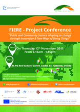FIERE Final Conference in Ireland on 12th November 2015